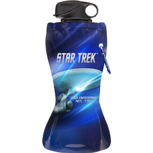 Star Trek 24 oz Collapsible Water Bottle