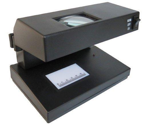 lampara para checar billetes falsos fabricante OBI