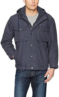 Smith's Workwear Men's Sherpa Lined Duck Canvas Jacket