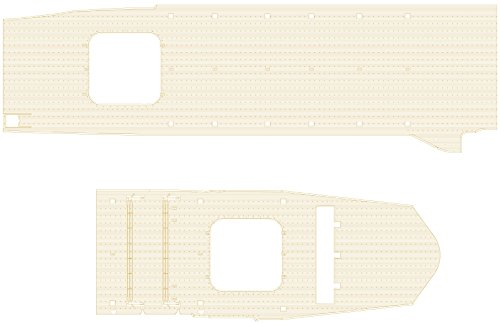 ハセガワ 1/350 日本海軍 航空母艦 隼鷹 木製甲板 プラモデル用パーツ QG66