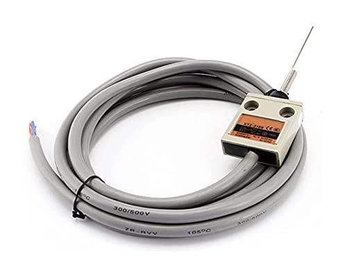 LLMXFC TZ-3169 XTZ-3169 IP67 4 Interruptor de límite de la Palanca del Rodillo de Alambre SPDT NO + NC Alambre de Cobre 3 Metros