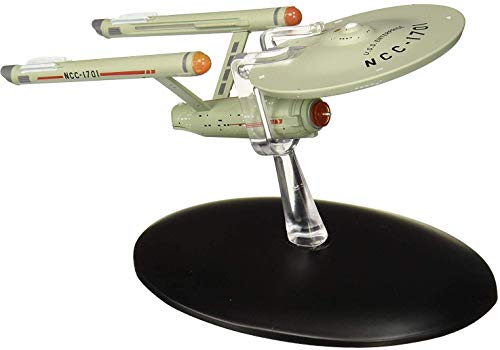 Eaglemoss Star Trek The Official Starships Collection USS Enterprise NCC-1701 Ship Replica