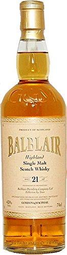 Balblair 21 Jahre Gordon & MacPhail Distillery Label Whisky 0,7 L