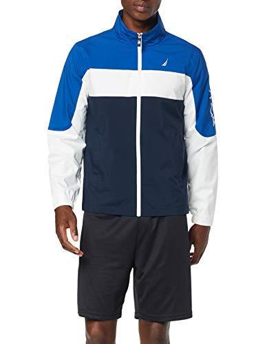 Nautica Sportive Jacket Chaqueta Deportiva, Azul (Monac Blue White Bright Navy Nvy), X-Large (Tamaño del Fabricante:XL) para Hombre