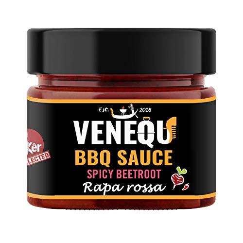 VENEQU BBQ SPICY BEETROOT - SALSA BBQ RAPA ROSSA (200gr)