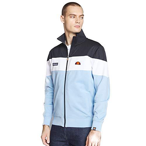 ellesse Caprini Track Jacke Herren hellblau/weiß, XL