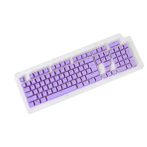 Puyong104 Tasten PBT Keycap Set Für Cherry Mx Kailh/Outemu Schalter/Gateron Schalter Tastatur/Die Meisten Mechanischen Tastaturen,Lila