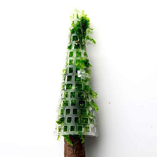 HelloCreate Aquarium-Moosbaum, lebensecht, Baumstamm-Dekoration für Aquarien (Moos oder andere Pflanzen nicht im Lieferumfang enthalten)