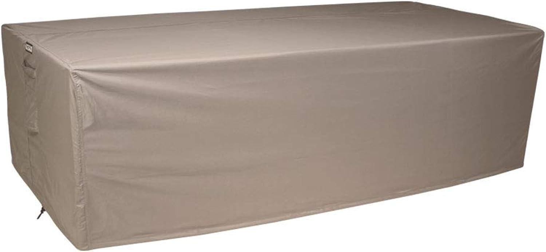 Raffles Covers NW-RT270 Abdeckung für rechteckige Gartentisch 270 x 100 cm Schutzhülle für rechteckigen Gartentisch, Abdeckhaube für Gartentisch, Gartenmbel Abdeckung