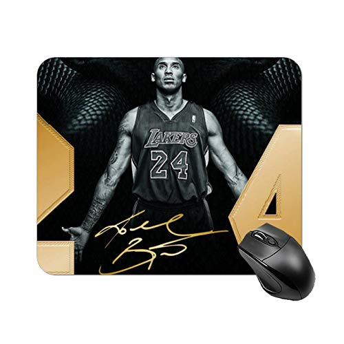 Mouse Pad Personalized Design Mouse Pad NonSlip Rubber Base Mousepad for Laptop amp Computer 18x22cm KobeBryant3