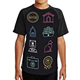 Pet Care Products & Tips Neon StyleIcon Set - - USA,Couple Cool Short Sleeve Crew Neck T-Shirt Domestic Cat XL