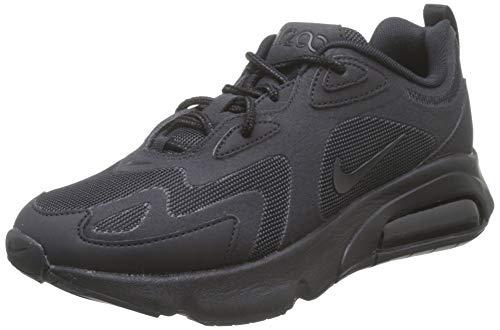 Nike W Air MAX 200, Zapatillas de Running para Asfalto Mujer, Negro (Black/Black 003), 39 EU