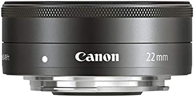 Canon 5985B005AA EF-M 22mm f/2 STM Lens, Silver
