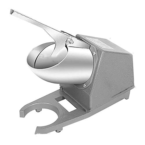 YFGQBCP Maquina Hielo 300W Afeitado de Hielo Maker- Cono de Nieve, Hielo Italiano, o con aguanieve máquina for Uso doméstico, máquina de Afeitar eléctrica de sobremesa de Hielo/Chipper