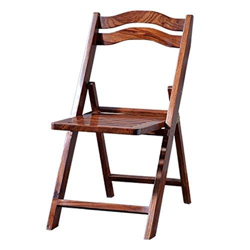Zheng Hui Shop Vouwstoelen Vouwstoel Hout Eetstoel Vouwstoel Thuis Bureau Stoel Computer Stoel Vrije tijd Stoel Moderne Mode Eettafel Stoel Modern design 41 * 76cm BRON