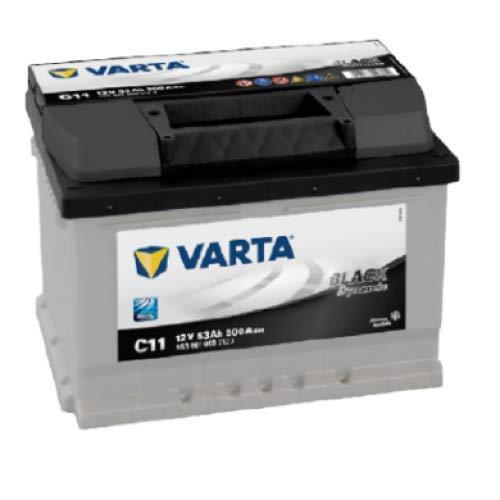 Varta C11 Black Dynamic Car Battery - 553 401 050