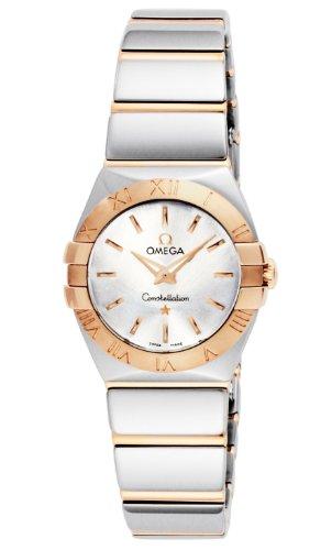 [オメガ] 腕時計 コンステレーション シルバー文字盤 K18PG/ステンレスケース 123.20.24.60.02.003 並行輸入品