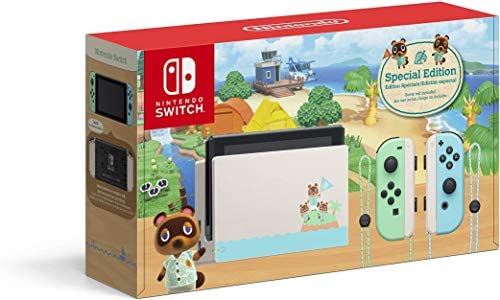 Nintendo Switch Animal Crossing New Horizons Edition Switch product image