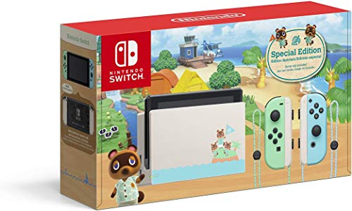 Nintendo Switch - Animal Crossing: New Horizons Edition - Switch is down $293.35