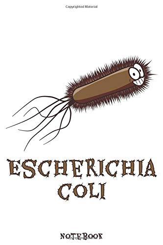 ESCHERICHIA COLI Notebook: Punktraster Notizbuch mit Bakterien Design für Biologen & Chemiker