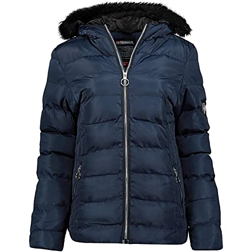 Geographical Norway ANGELY LADY - Parka Impermeable Mujeres - Abrigo Grueso...
