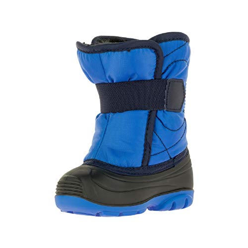 Kamik baby-boys' SNOWBUG3 Snow Boot, Strong Blue, 6 Medium US Toddler