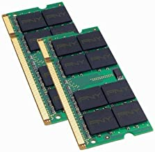 PNY Optima 2GB (2x1GB) Dual Channel Kit DDR2 667 MHz PC2-5300 Notebook/Laptop SODIMM Memory Modules MN2048KD2-667