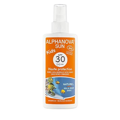 Alphanova Sun Crème solaire pour enfants avec protection SFP 30, de 125ml