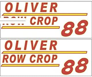 901H New Hood Decal Made to fit Minneapolis Moline Tractor Model 88