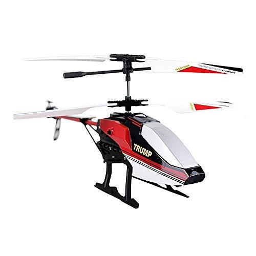 FYRMMD Mini Radio Control Remoto Gota Helicóptero Carga Juguete Eléctrico 3.5 CH Incorporado Gyro Avión Drone Paren (coche de control remoto)