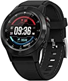 Smart Watch GPS Smartwatch with Blood Pressure Heart Rate Monitor Waterproof Sleep Fitness Tracker with Compass Altimeter Barometer