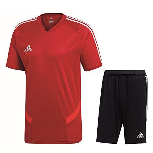 adidas Tiro 19 Trainingsset Herren rot schwarz Gr XXL