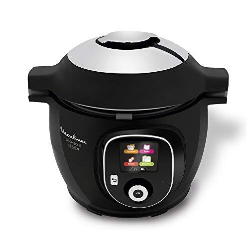 Moulinex Cookeo Intelligenter Multikocher 150 Rezepte Schwarz & vernetzt