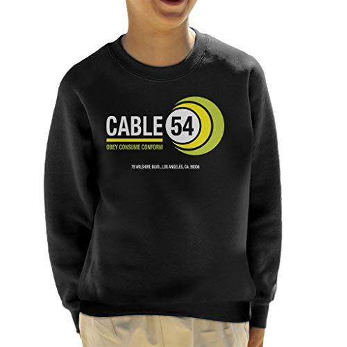 Cloud City 7 ze leven kabel 54 kind Sweatshirt