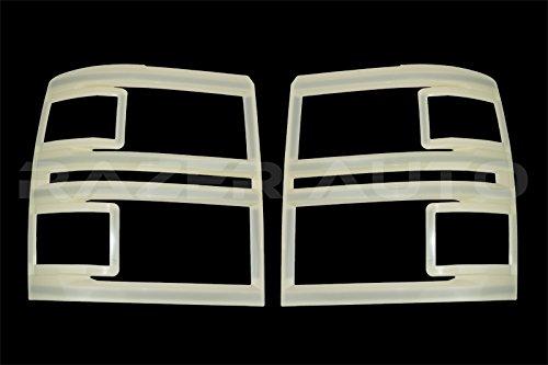 Razer Auto Primed Non-Paint Trim Headlight Trim Cover for 2014-2015 Chevy Silverado 1500