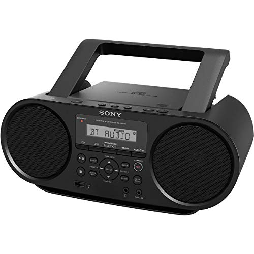 Sony ZS-RS60BT CD Boombox with Bluetooth (4-Watt) with 1 Year Extended Warranty