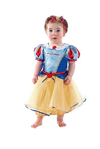 Amscan - DCPRSW06 - Costume - bébé - Princess Snow White - 6-12 Mois