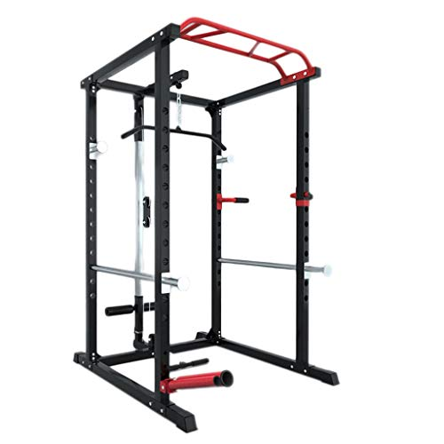 Profession Squat Rack Frame Multi-Functional Household Power Cages Bench Stand Barbell Stand Fitness Comprehensive Training Equipment