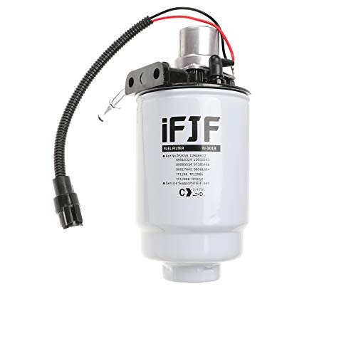 iFJF TP3018 Fuel Filter and 12642623 Fuel Filter Head Replacement