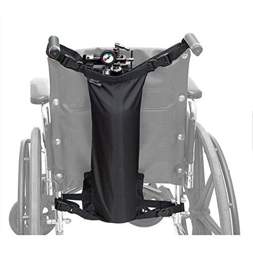 WANGXN Aufbewahrungstasche für Rollstühle Robuste Oxford Sauerstofftank Tragetasche Tragbare Zylindrische wasserdichte Nylonpackung Medizinische Zwecke