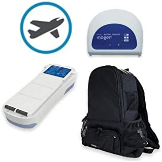 Inogen One G2 Airline Power Bundle - 24 Cell Battery, External Charger, Backpack, and Airline Priority Tag Identifier