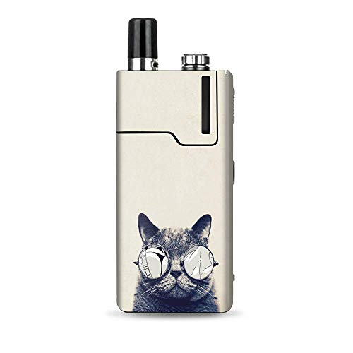 IT'S A SKIN Decal Vinyl Wrap Compatible with Lost Vape Orion Q/Cool Cat Kat Shades Glasses Tumblr