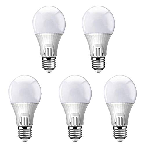 5x LED Lampe Birne 13 Watt Ersetzt 80 Watt E27 3000 K Kelvin warmweiß Glühbirne CE-Zertifiziert Energieklasse A+ 4 Jahre Garantie 25000 Stunden
