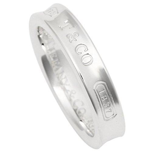 [ティファニー] リング アクセサリー TIFFANY&Co. 1837 ナローベーシックリング SS 指輪 シルバー [並行輸入品] US8(約17号)