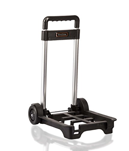 LeanPac Small Lightweight & Compact Folding Travel Trolley Hand Cart. Weighs 900grams Only. Amazons Choice.