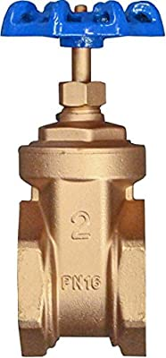"IrrigationKing RKGV2 2"" Brass Gate Valve Full Bore by IrrigationKing -"