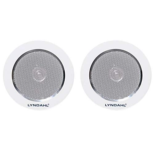 Lyndahl Lautsprecher-Set, Bluetooth 4-Kanal Verstärker CS200BT-AMP und 2-Wege Lautsprecherpaar CS120AL, mit 2 oder 4 Einbaulautsprechern Deckenlautsprecher mit 2 Lautsprechern