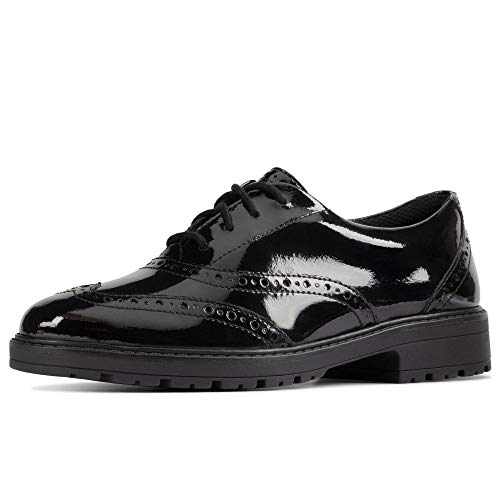 Clarks Youth Loxham Lace Up Brogue