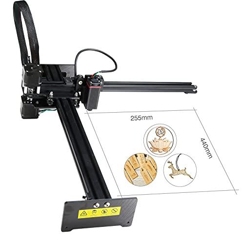 NEJE Master-2s Plus 7 W macchina per incisione laser CNC, supporta APP controllo wireless e controllo del computer, dimensioni di lavoro 255 x 440 mm (modulo 2,5 W)
