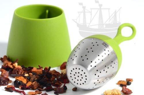 Ad Hoc Tee-Ei FLOATEA, schwimmend, grün - Bremer Gewürzhandel